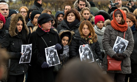 Vigil for Tugce Albayrak