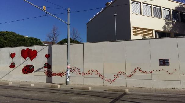 "Foto della pagina fb ""Montpellier loves steet art"""