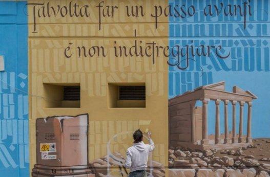 """Foto dalla pagina Fb di """"Walls of Milano"""""""